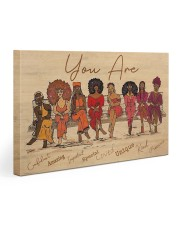 Afro Girls Gallery Wrapped Canvas Prints tile