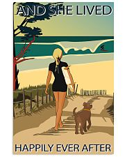 Surfing Live Happily  24x36 Poster front