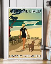 Surfing Live Happily  24x36 Poster lifestyle-poster-4