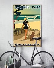 Surfing Live Happily  24x36 Poster lifestyle-poster-7