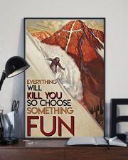 Alpine Skiing Choose Something Fun 24x36 Poster lifestyle-poster-2