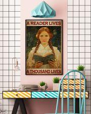 Vintage Reader  24x36 Poster lifestyle-poster-6