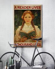 Vintage Reader  24x36 Poster lifestyle-poster-7