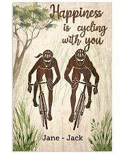 Happiness Is Cycling With You 24x36 Poster front