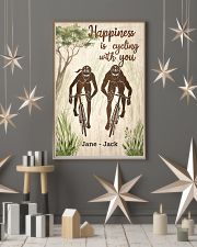 Happiness Is Cycling With You 24x36 Poster lifestyle-holiday-poster-1