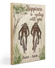 Happiness Is Cycling With You Gallery Wrapped Canvas Prints tile
