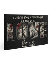 Sugar Skull Couple Whole Lot Of Love Gallery Wrapped Canvas Prints tile