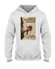 And Into The Mountain I Go Hooded Sweatshirt tile