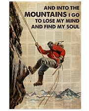 And Into The Mountain I Go 24x36 Poster front
