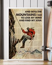 And Into The Mountain I Go 24x36 Poster lifestyle-poster-4