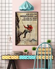 And Into The Mountain I Go 24x36 Poster lifestyle-poster-6