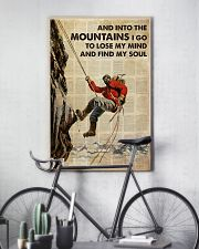 And Into The Mountain I Go 24x36 Poster lifestyle-poster-7