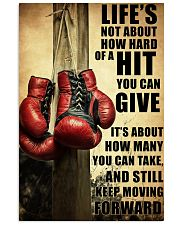 Boxing Quote 24x36 Poster front