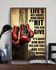 Boxing Quote 24x36 Poster lifestyle-poster-2