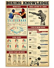 Boxing Knowledge 2 24x36 Poster front