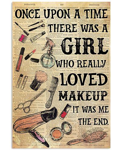 OUAT Girl Loved Makeup