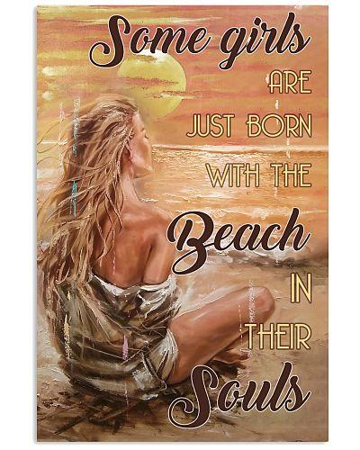 Girls Born With The Beach Blonde Sitting