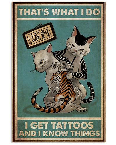 Cats Get Tattoos And Know Things