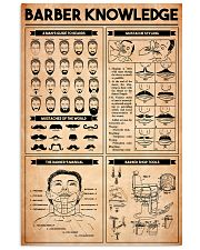 Barber Knowledge 11x17 Poster front