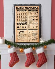 Barber Knowledge 16x24 Poster lifestyle-holiday-poster-4