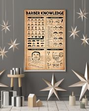 Barber Knowledge 24x36 Poster lifestyle-holiday-poster-1