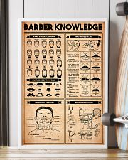 Barber Knowledge 24x36 Poster lifestyle-poster-4