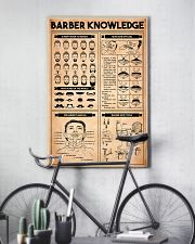 Barber Knowledge 24x36 Poster lifestyle-poster-7