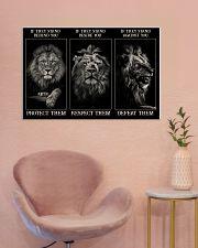 Lion Protect Them  36x24 Poster poster-landscape-36x24-lifestyle-19