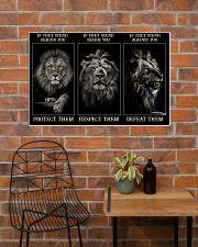 Lion Protect Them  36x24 Poster poster-landscape-36x24-lifestyle-20