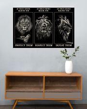 Lion Protect Them  36x24 Poster poster-landscape-36x24-lifestyle-21