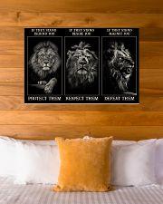 Lion Protect Them  36x24 Poster poster-landscape-36x24-lifestyle-23