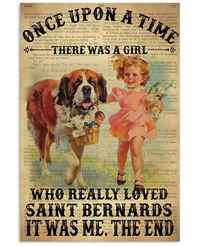OUAT Girl Loved Saint Bernards