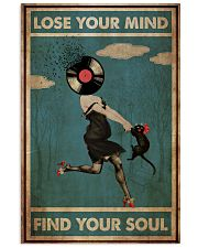 Girl And Cat Lose Your Mind  24x36 Poster front