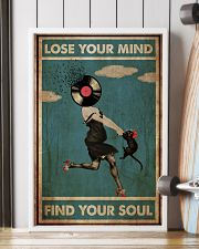 Girl And Cat Lose Your Mind  24x36 Poster lifestyle-poster-4