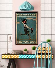 Girl And Cat Lose Your Mind  24x36 Poster lifestyle-poster-6