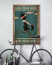 Girl And Cat Lose Your Mind  24x36 Poster lifestyle-poster-7