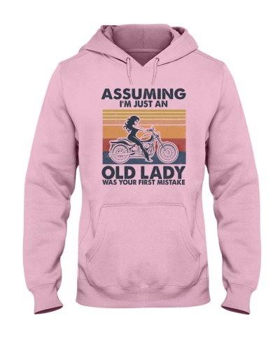 Old Lady Riding