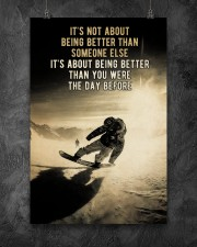 Snowboarding It's Not About 24x36 Poster aos-poster-portrait-24x36-lifestyle-12