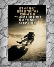 Snowboarding It's Not About 24x36 Poster aos-poster-portrait-24x36-lifestyle-13
