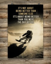 Snowboarding It's Not About 24x36 Poster aos-poster-portrait-24x36-lifestyle-14