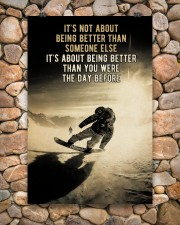 Snowboarding It's Not About 24x36 Poster aos-poster-portrait-24x36-lifestyle-15