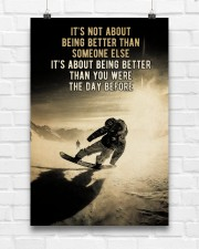 Snowboarding It's Not About 24x36 Poster aos-poster-portrait-24x36-lifestyle-17