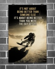 Snowboarding It's Not About 24x36 Poster aos-poster-portrait-24x36-lifestyle-18