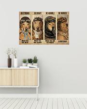 Golden Retriever Pilot Be Badass 36x24 Poster poster-landscape-36x24-lifestyle-01