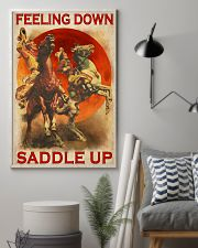 Horse Riding Feeling Down Saddle Up 24x36 Poster lifestyle-poster-1