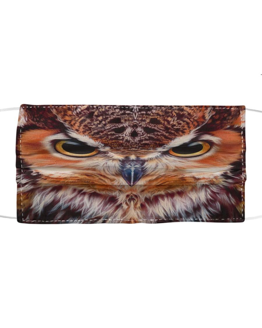 Owl Cloth face mask