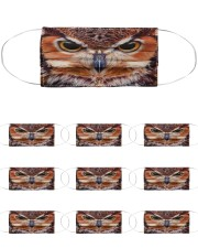 Owl Cloth Face Mask - 10 Pack front
