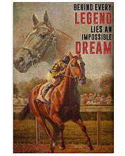 Man o' War Legend  24x36 Poster front