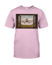 Agricultural Aircraft Window View Classic T-Shirt tile