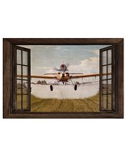 Agricultural Aircraft Window View 36x24 Poster front